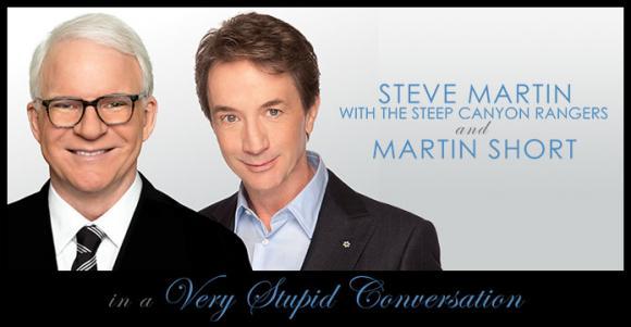 Steve Martin & Martin Short at Bass Concert Hall