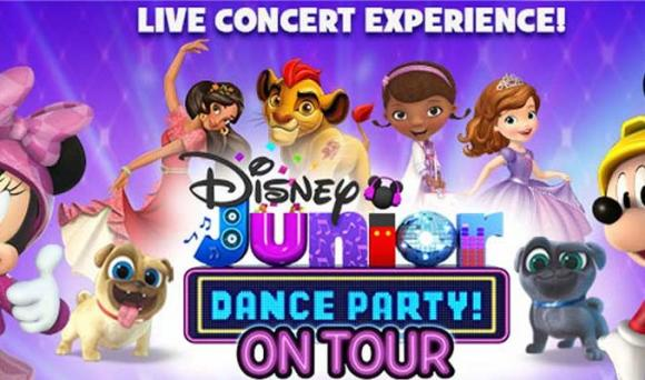 Disney Junior Dance Party at Bass Concert Hall