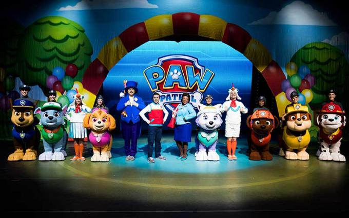 Paw Patrol Live at Bass Concert Hall