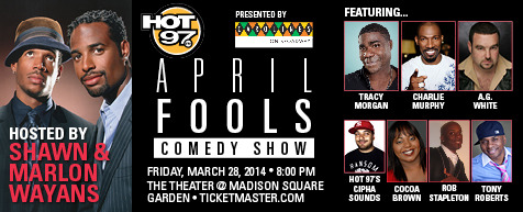 April Fools Comedy Jam at Bass Concert Hall