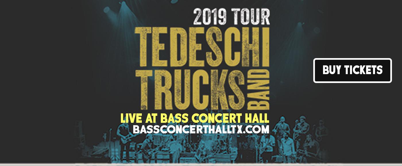 Tedeschi Trucks Band at Bass Concert Hall