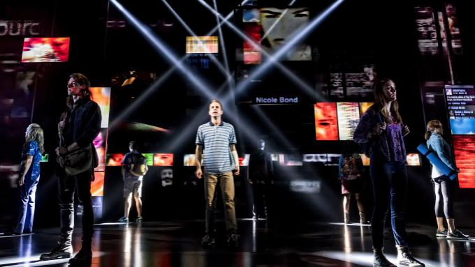 Dear Evan Hansen at Bass Concert Hall