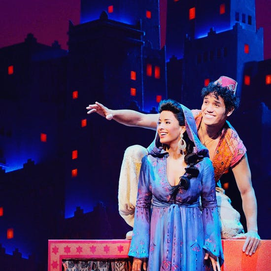 Aladdin at Bass Concert Hall