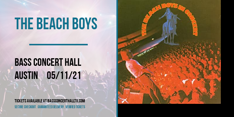 The Beach Boys at Bass Concert Hall