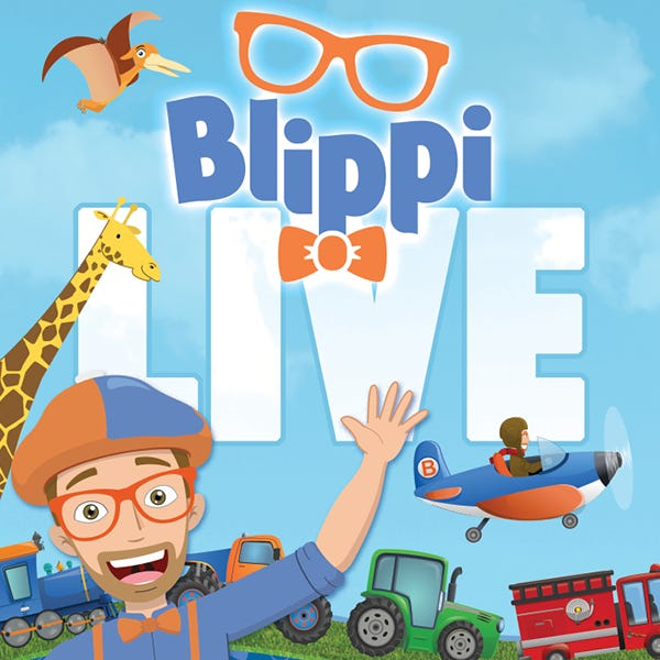 Blippi Live [CANCELLED] at Bass Concert Hall