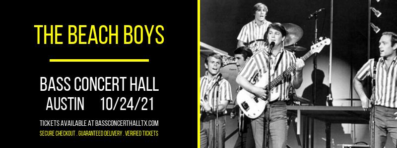 The Beach Boys at Bass Concert Hall