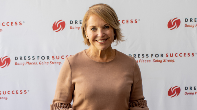 Katie Couric at Bass Concert Hall
