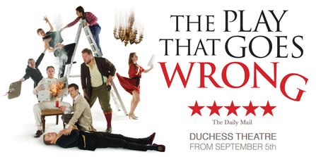The Play That Goes Wrong  at Bass Concert Hall