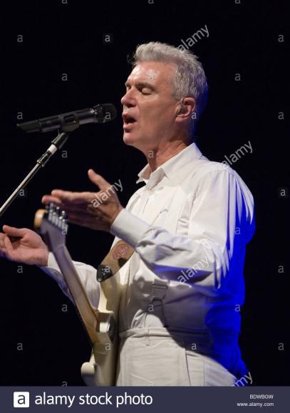 David Byrne at Bass Concert Hall