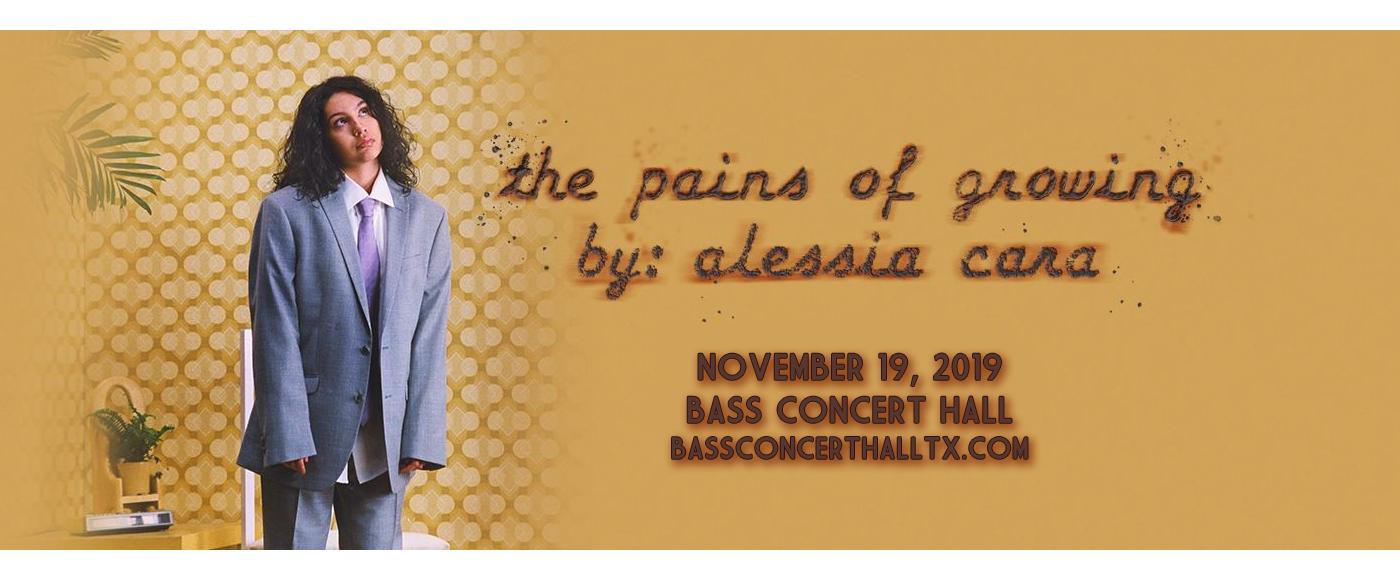 Alessia Cara at Bass Concert Hall
